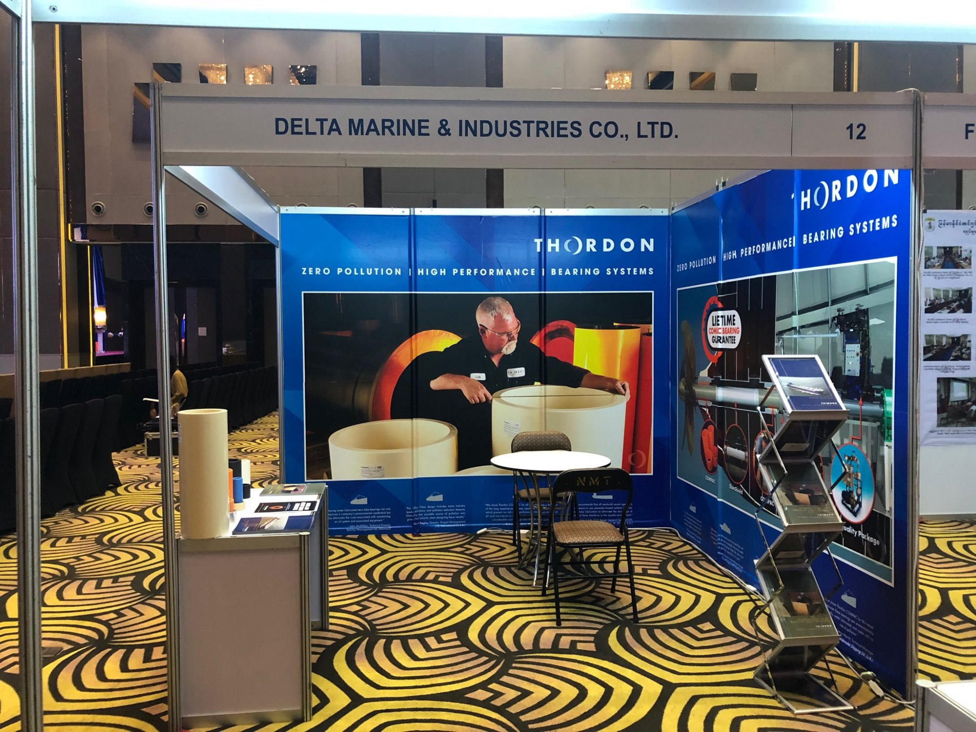 Delta Marin at MYANMEX 2019